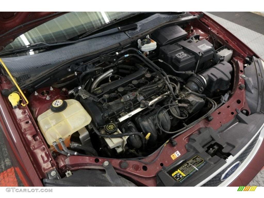 2006 ford focus zx4 ses sedan 2.0l dohc 16v inline 4 ... 2006 ford 40l engine diagram #2