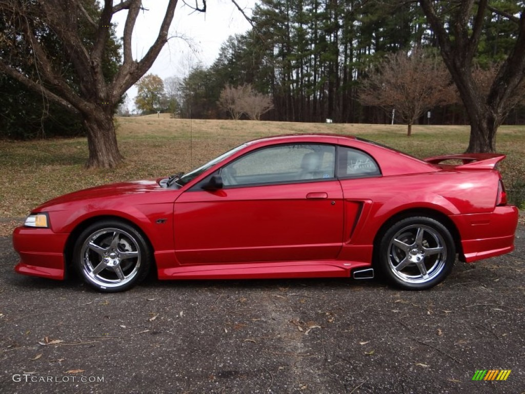 Laser Red Metallic Ford Mustang