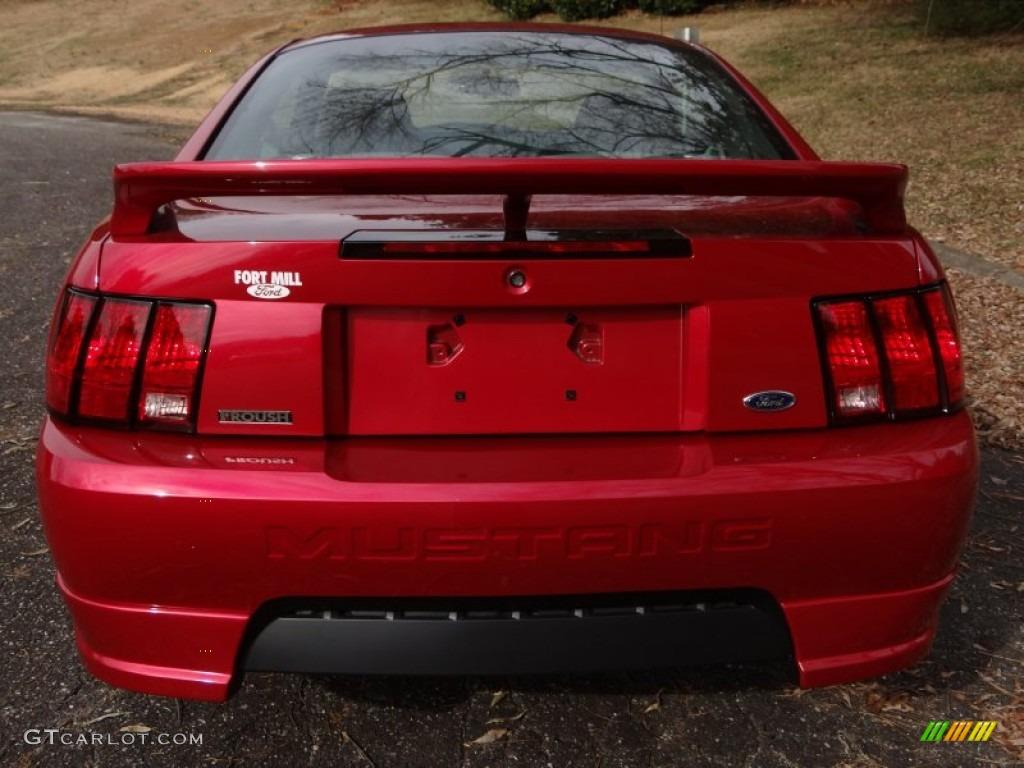 2000 Mustang GT Coupe - Laser Red Metallic / Medium Graphite photo #7