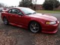 2000 Laser Red Metallic Ford Mustang GT Coupe  photo #9