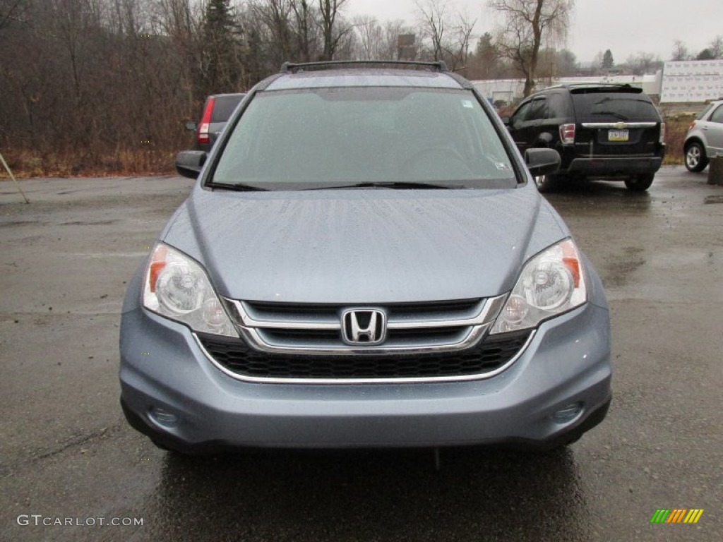 2011 CR-V EX 4WD - Glacier Blue Metallic / Gray photo #12