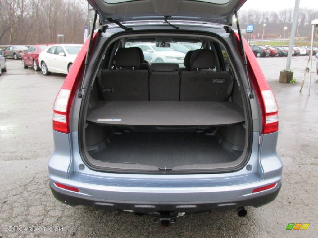 2011 CR-V EX 4WD - Glacier Blue Metallic / Gray photo #17