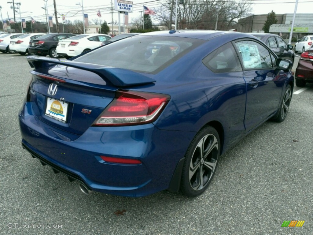 2015 dyno blue pearl honda civic si coupe 99670629 photo