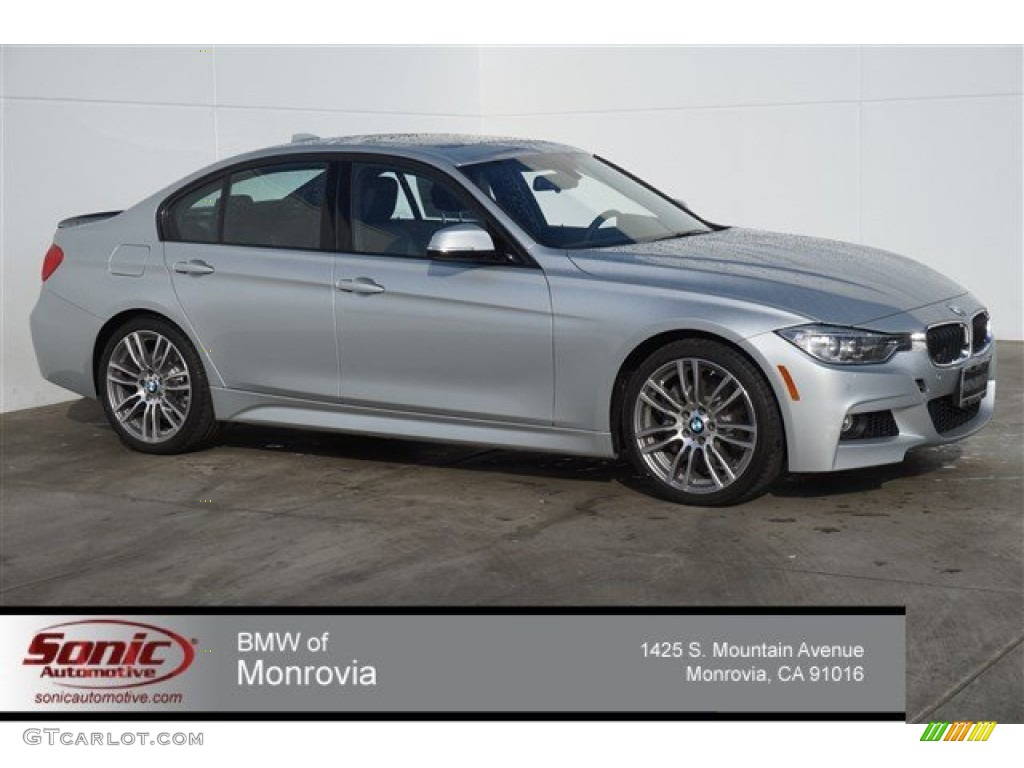 2015 Orion Silver Metallic BMW 3 Series 335i Sedan ...