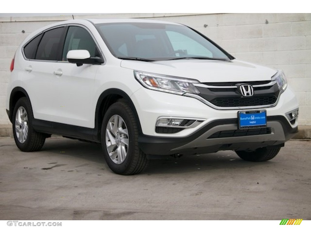 White Diamond Pearl Honda CR-V