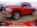 Flame Red 2015 Ram 1500 Big Horn Crew Cab