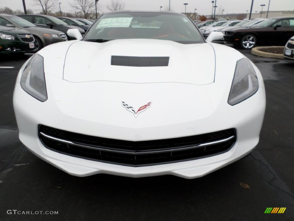 2015 arctic white chevrolet corvette stingray coupe z51. Black Bedroom Furniture Sets. Home Design Ideas