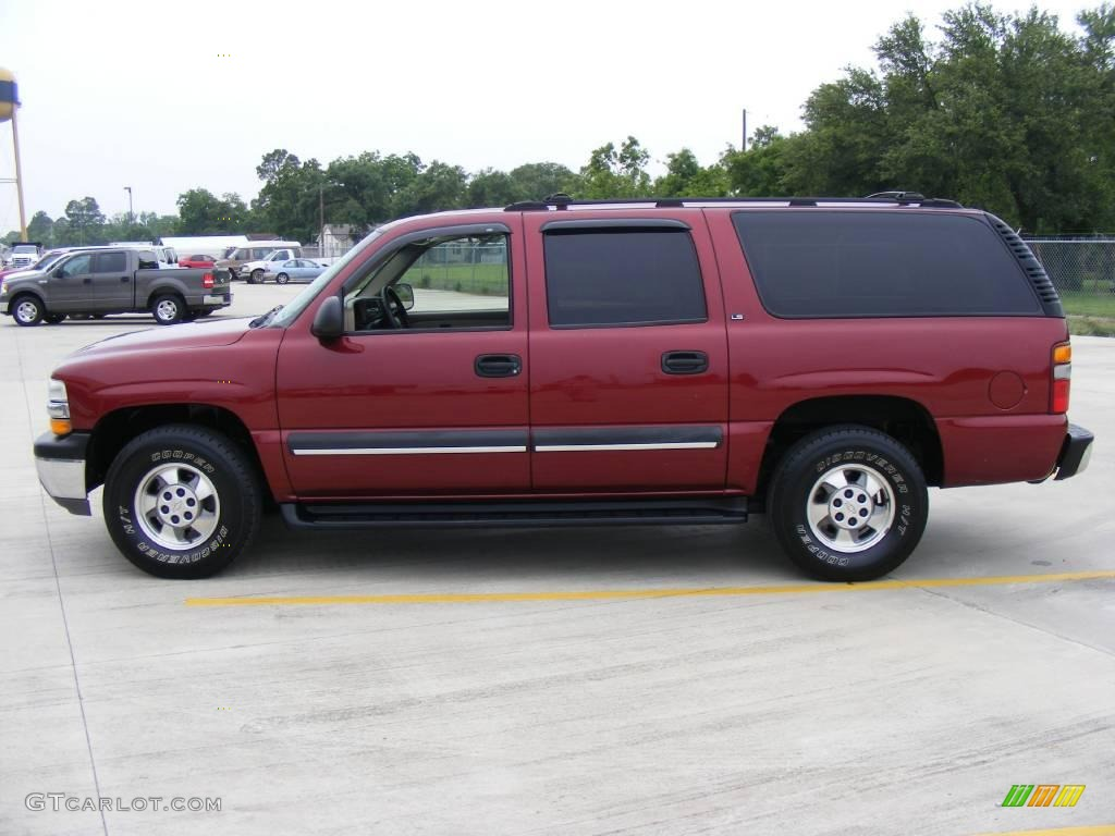 2002 redfire metallic chevrolet suburban 1500 ls 9968127 photo 6 car color. Black Bedroom Furniture Sets. Home Design Ideas
