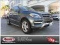 Steel Grey Metallic 2013 Mercedes-Benz ML 350 4Matic