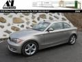 Cashmere Silver Metallic - 1 Series 128i Coupe Photo No. 1