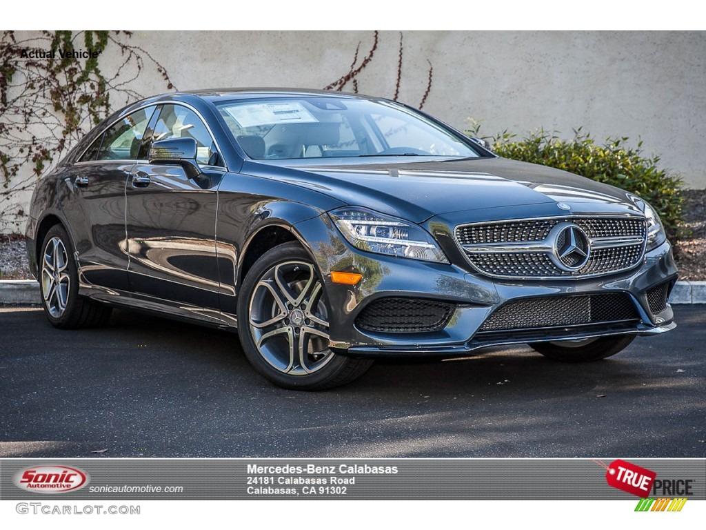 2015 steel grey metallic mercedes benz cls 400 coupe for Mercedes benz 400