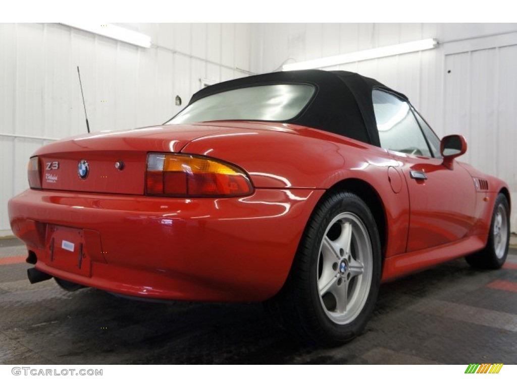 bright red 1996 bmw z3 1 9 roadster exterior photo. Black Bedroom Furniture Sets. Home Design Ideas