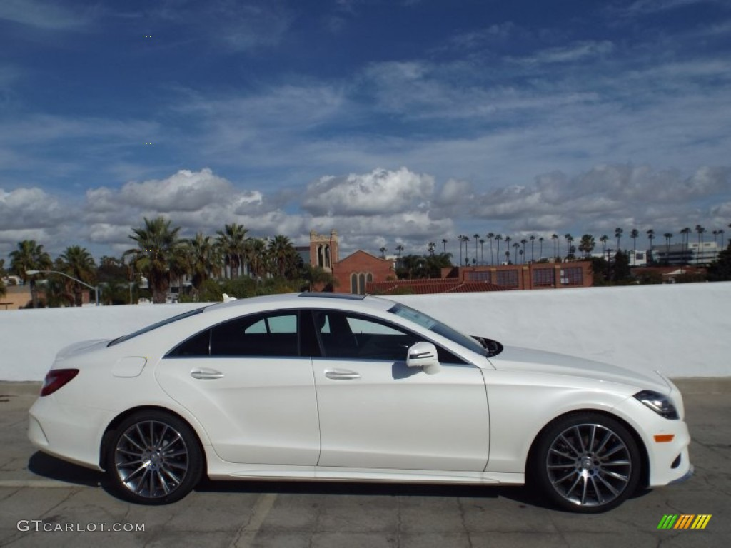 Designo Diamond White Metallic 2015 Mercedes Benz Cls 400