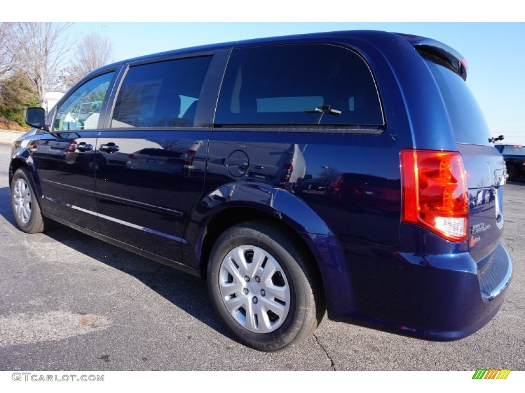 true blue pearl 2015 dodge grand caravan american value. Black Bedroom Furniture Sets. Home Design Ideas