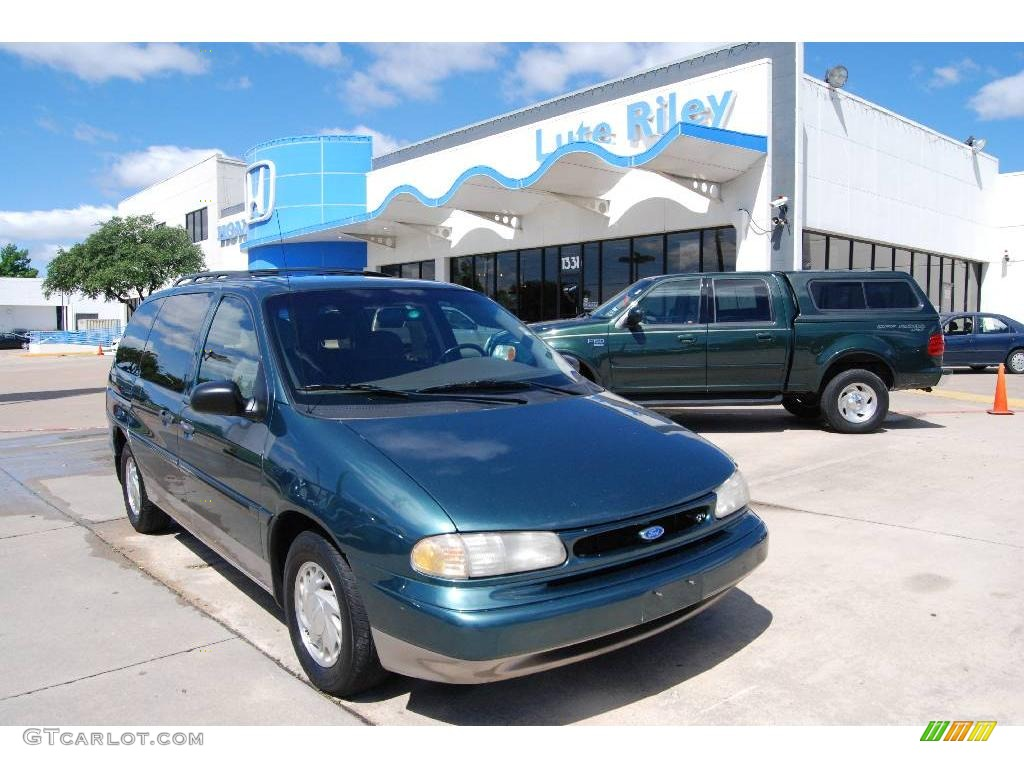1998 deep emerald green metallic ford windstar lx 9954085. Black Bedroom Furniture Sets. Home Design Ideas