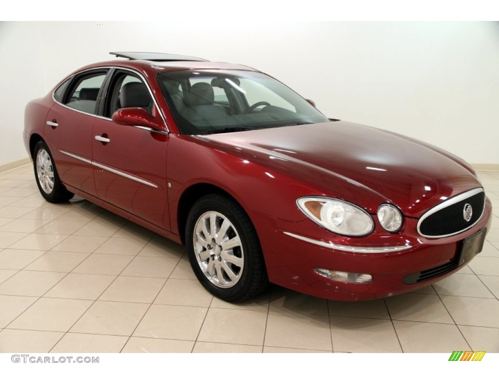 Red jewel buick lacrosse