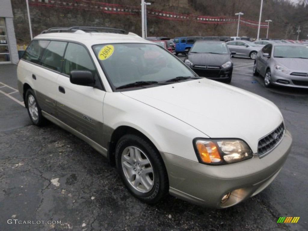 2001 Subaru Outback 3.0 >> White Frost Pearl 2004 Subaru Outback Wagon Exterior Photo #99813749 | GTCarLot.com