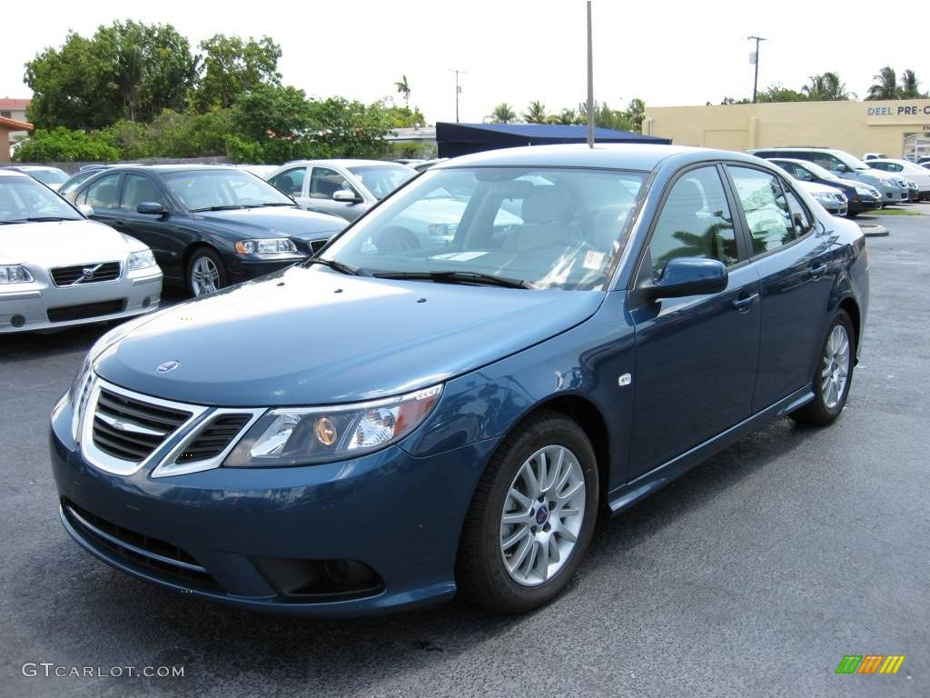 Fusion blue metallic saab 9 3