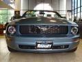 2006 Windveil Blue Metallic Ford Mustang V6 Premium Convertible  photo #2