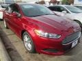 2015 Ruby Red Metallic Ford Fusion SE #99825709
