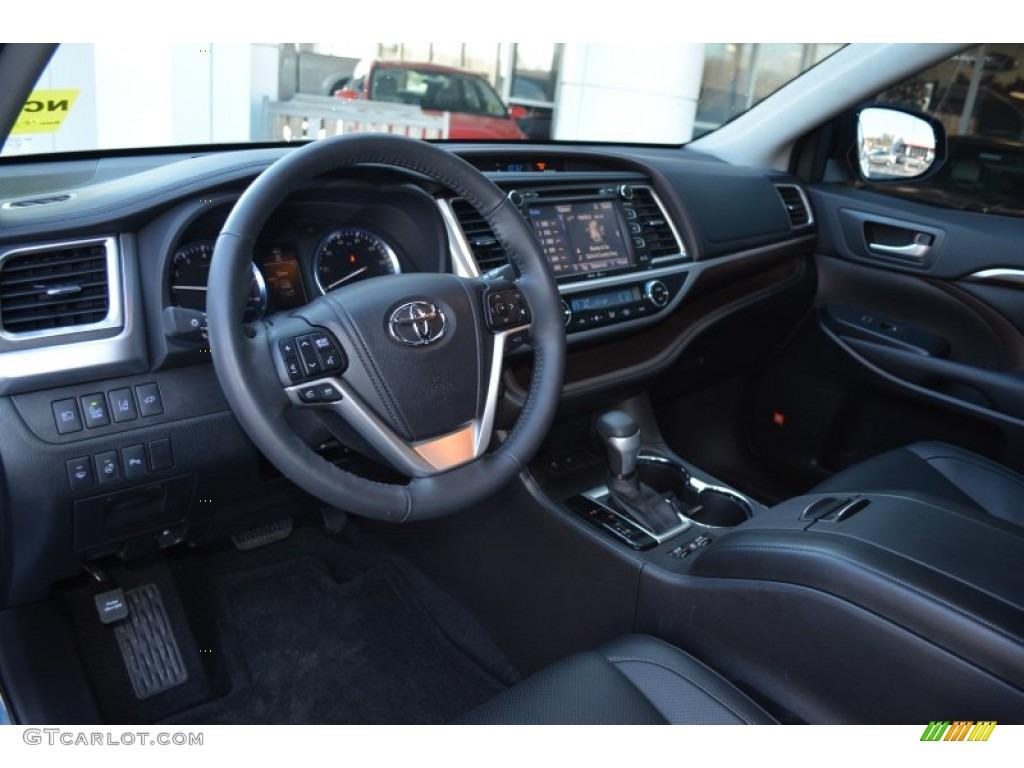 2015 Shoreline Blue Pearl Toyota Highlander Limited 99825784 Photo 7 Car
