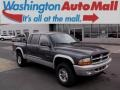 2002 Graphite Metallic Dodge Dakota SLT Quad Cab 4x4 #99825774