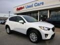 2014 Crystal White Pearl Mica Mazda CX-5 Touring AWD #99826131
