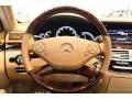 Cashmere/Savanna Steering Wheel Photo for 2013 Mercedes-Benz S #99855756