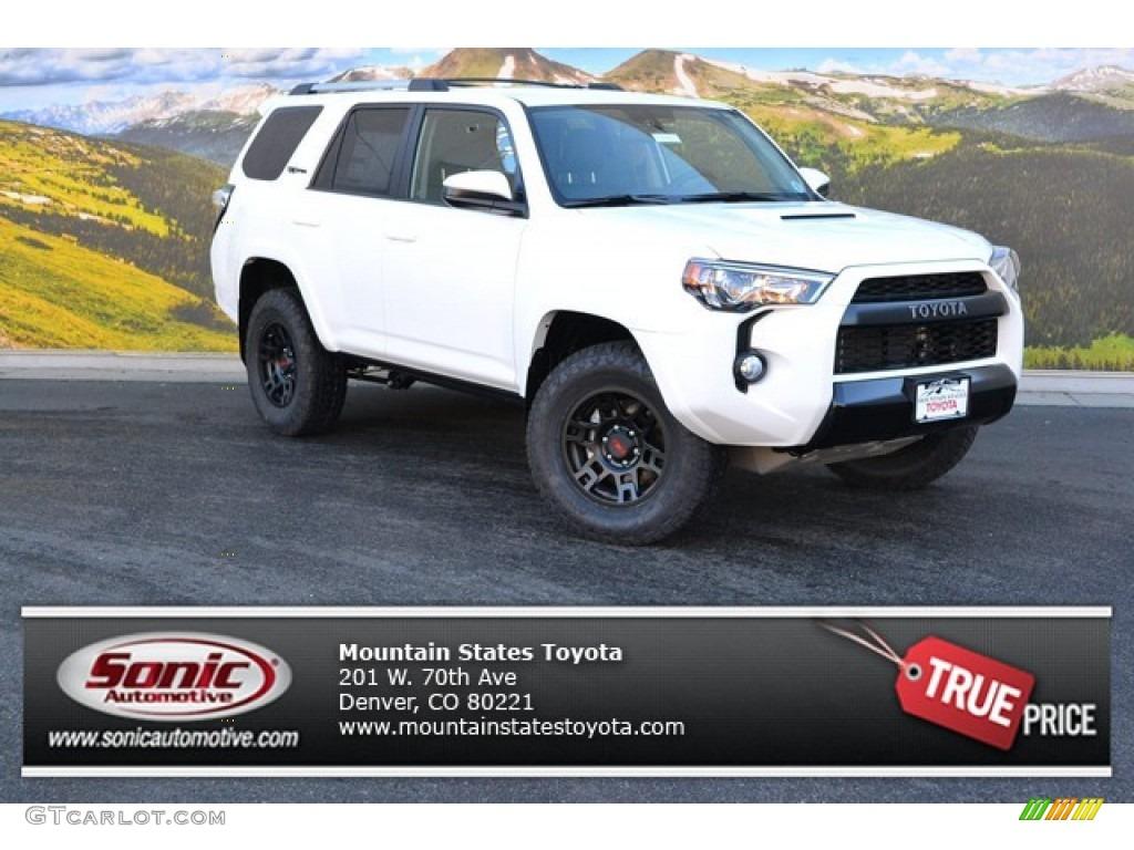 2015 Super White Toyota 4runner Trd Pro 4x4 99825602 Gtcarlot Com
