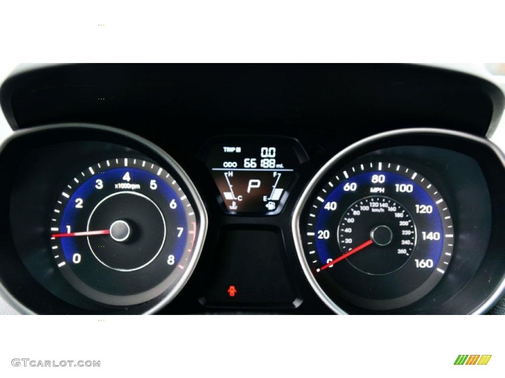 2011 Hyundai Elantra Gls Gauges Photo 99858216 Gtcarlot Com