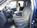 2003 Patriot Blue Pearl Dodge Ram 1500 SLT Quad Cab 4x4  photo #14