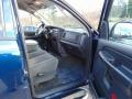 2003 Patriot Blue Pearl Dodge Ram 1500 SLT Quad Cab 4x4  photo #16