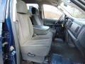 2003 Patriot Blue Pearl Dodge Ram 1500 SLT Quad Cab 4x4  photo #17
