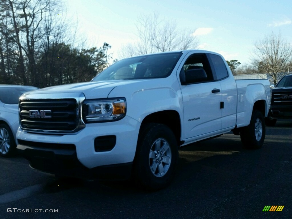 2015 summit white gmc canyon extended cab 99862467 photo 3 car color galleries. Black Bedroom Furniture Sets. Home Design Ideas