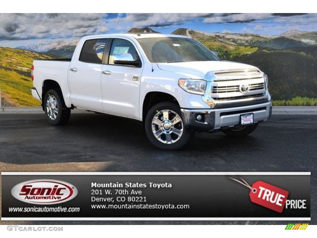 2015 super white toyota tundra 1794 edition crewmax 4x4. Black Bedroom Furniture Sets. Home Design Ideas
