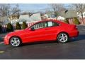 2007 CLK 350 Coupe Mars Red