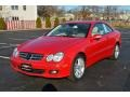 Mars Red - CLK 350 Coupe Photo No. 4