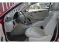 Front Seat of 2007 CLK 350 Coupe