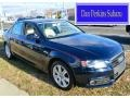 Deep Sea Blue Pearl Effect 2010 Audi A4 2.0T quattro Sedan