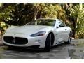 Bianco Fuji (Pearl White) 2012 Maserati GranTurismo S Automatic