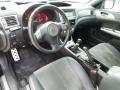 2009 Subaru Impreza Graphite Gray Alcantara/Carbon Black Leather Interior Prime Interior Photo