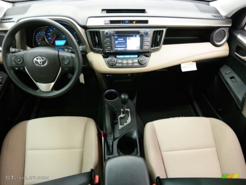 2015 toyota rav4 xle latte dashboard photo 99981096. Black Bedroom Furniture Sets. Home Design Ideas
