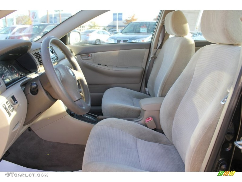 beige interior 2007 toyota corolla ce photo 99986700. Black Bedroom Furniture Sets. Home Design Ideas